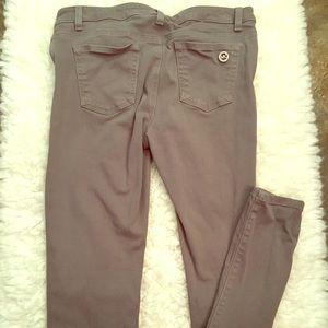 Michael Michael Kors grey skinny jeans